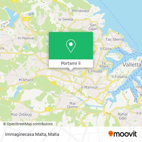 Mappa Immaginecasa Malta