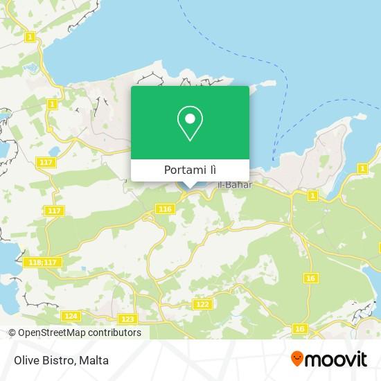 Mappa Olive Bistro