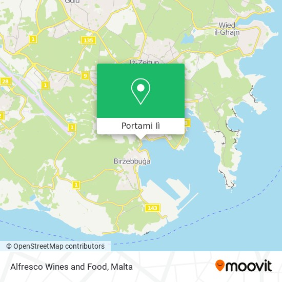 Mappa Alfresco Wines and Food