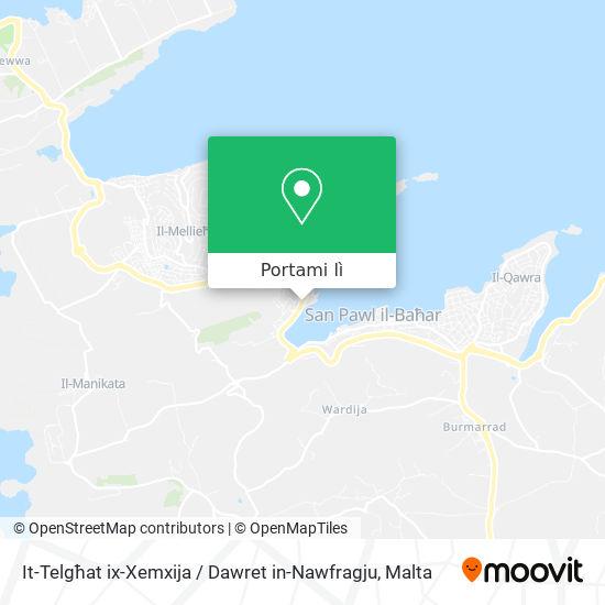 Mappa It-Telgħat ix-Xemxija / Dawret in-Nawfragju