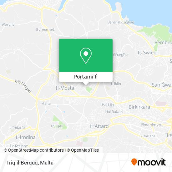 Mappa Triq il-Berquq