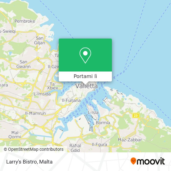 Mappa Larry's Bistro