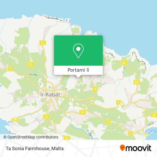 Mappa Ta Sonia Farmhouse