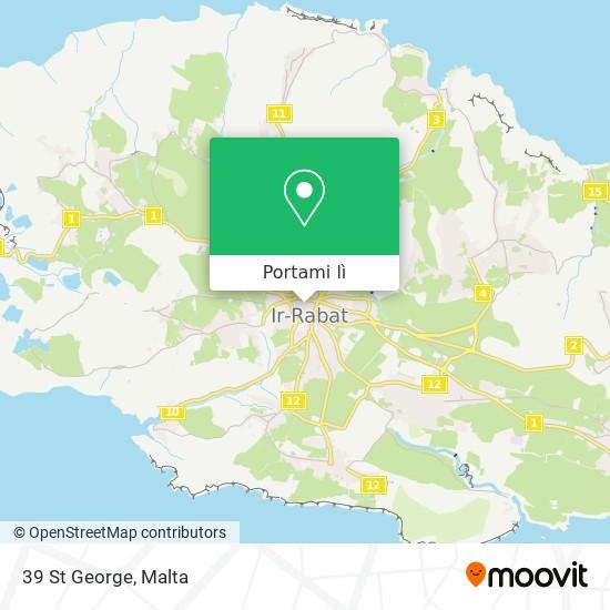 Mappa 39 St George