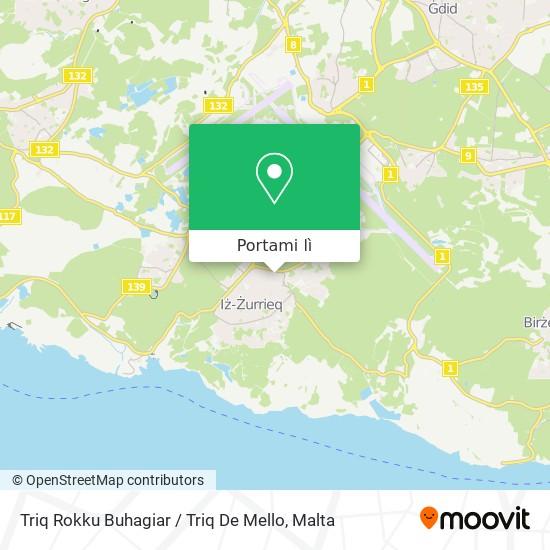 Mappa Triq Rokku Buhagiar / Triq De Mello
