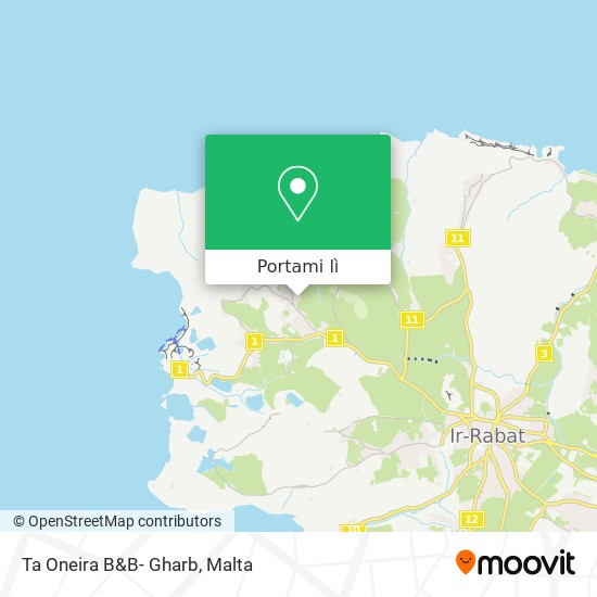 Mappa Ta Oneira B&B- Gharb