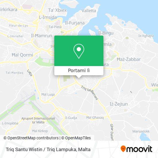 Mappa Triq Santu Wistin / Triq Lampuka