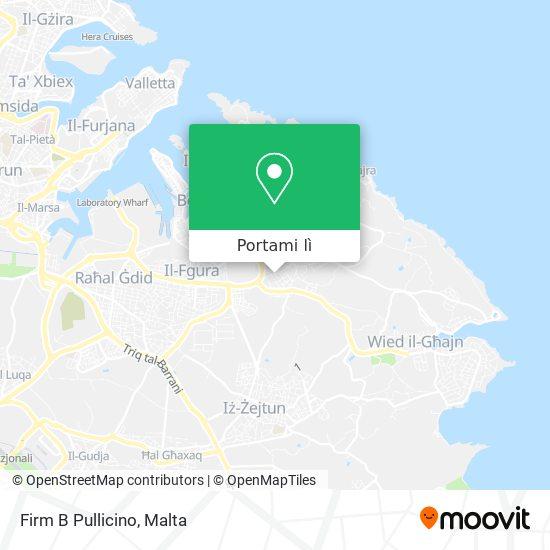 Mappa Firm B Pullicino