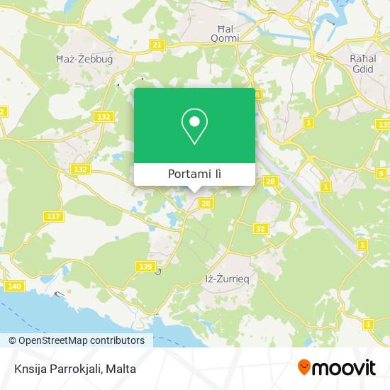 Mappa Knsija Parrokjali