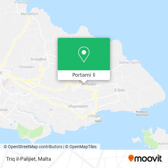 Mappa Triq il-Palijiet