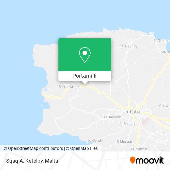 Mappa Sqaq A. Ketelby