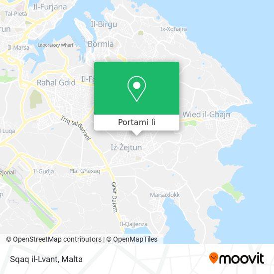 Mappa Sqaq il-Lvant