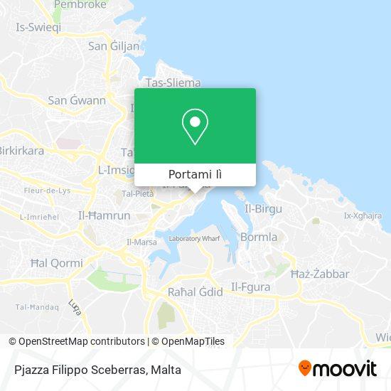 Mappa Pjazza Filippo Sceberras