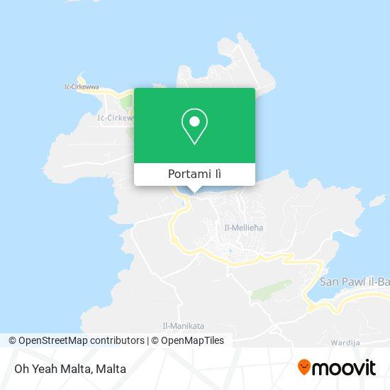 Mappa Oh Yeah Malta