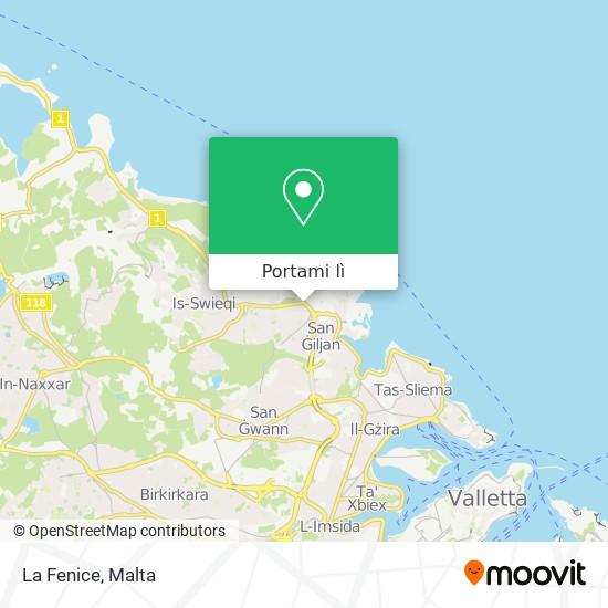 Mappa La Fenice