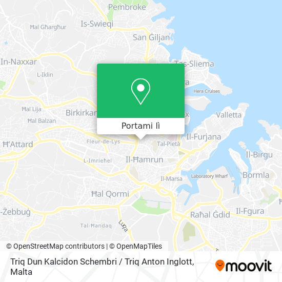 Mappa Triq Dun Kalcidon Schembri / Triq Anton Inglott
