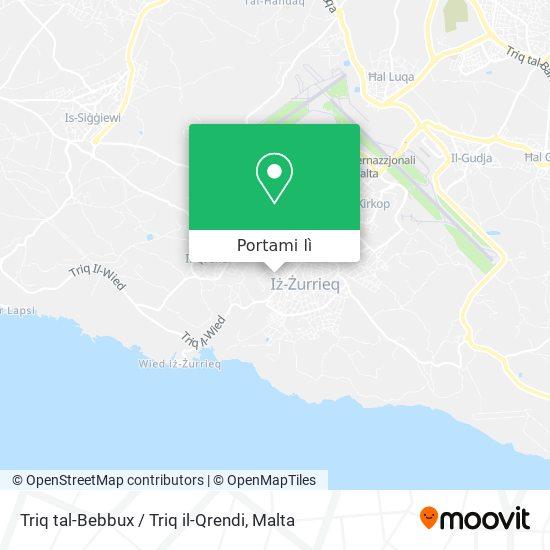 Mappa Triq tal-Bebbux / Triq il-Qrendi