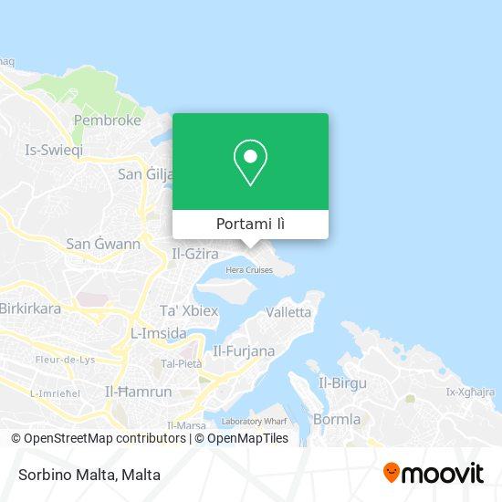 Mappa Sorbino Malta