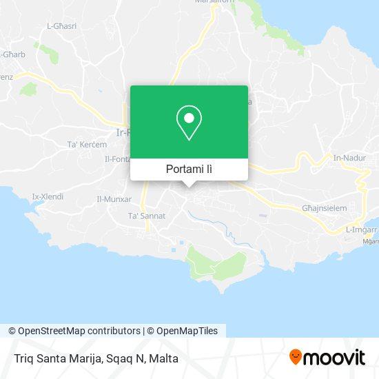 Mappa Triq Santa Marija, Sqaq N