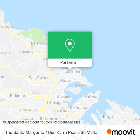 Mappa Triq Santa Margerita / Dun Karm Psaila St