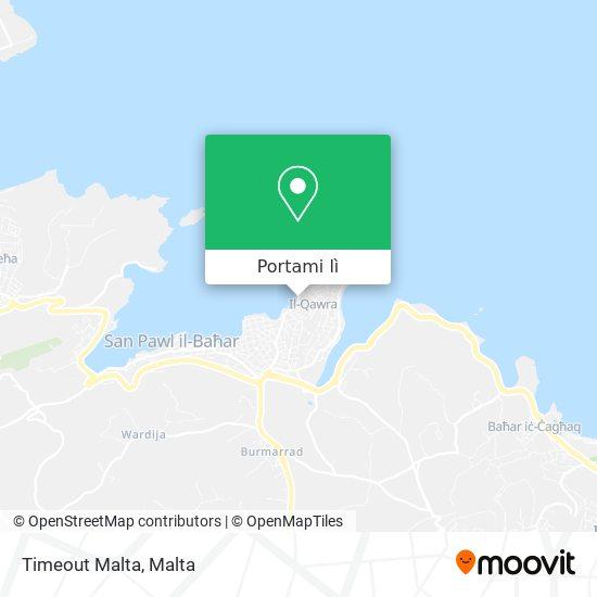Mappa Timeout Malta
