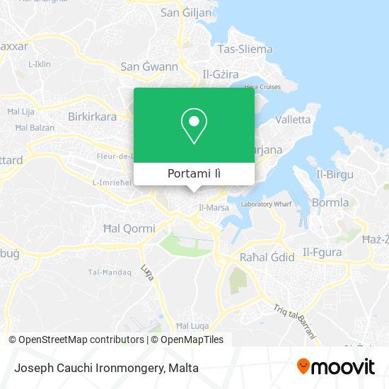 Mappa Joseph Cauchi Ironmongery
