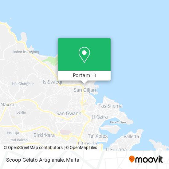 Mappa Scoop Gelato Artigianale