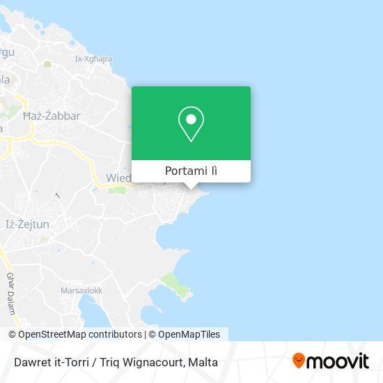 Mappa Dawret it-Torri / Triq Wignacourt
