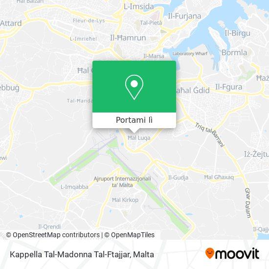 Mappa Kappella Tal-Madonna Tal-Ftajjar