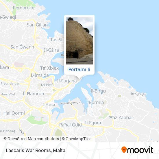 Mappa Lascaris War Rooms