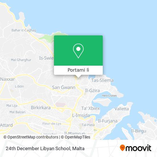 Mappa 24th December Libyan School