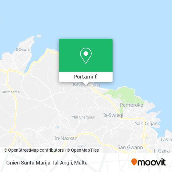 Mappa Gnien Santa Marija Tal-Angli