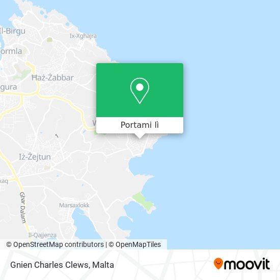 Mappa Gnien Charles Clews