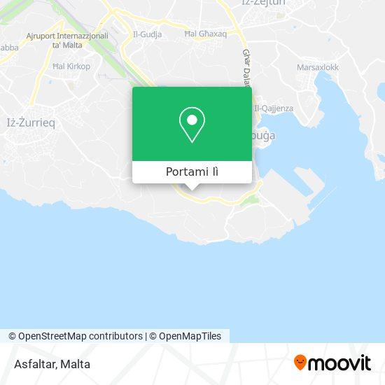 Mappa Asfaltar