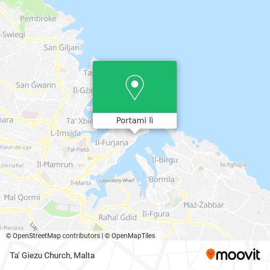 Mappa Ta' Giezu Church