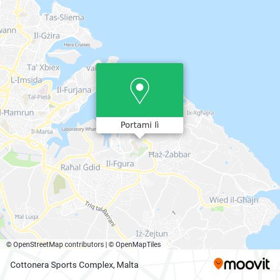 Mappa Cottonera Sports Complex