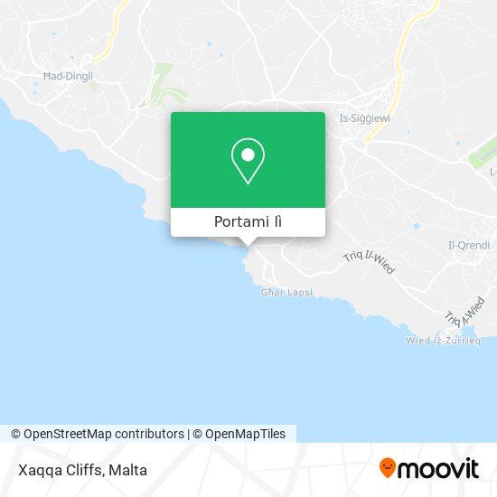 Mappa Xaqqa Cliffs