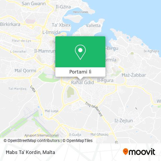 Mappa Kordin Prison