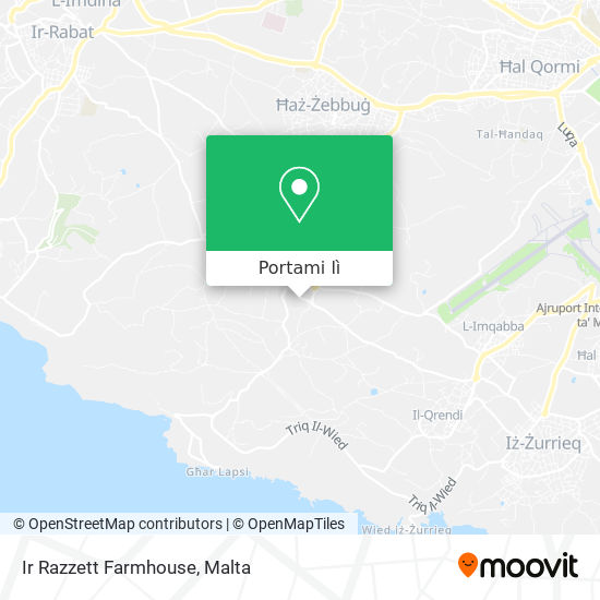 Mappa Ir Razzett Farmhouse