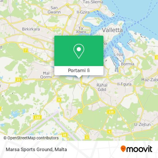 Mappa Marsa Sports Ground