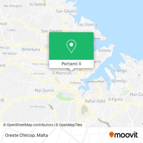 Mappa Oreste Chircop