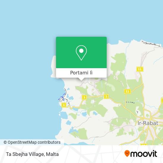 Mappa Ta Sbejha Village