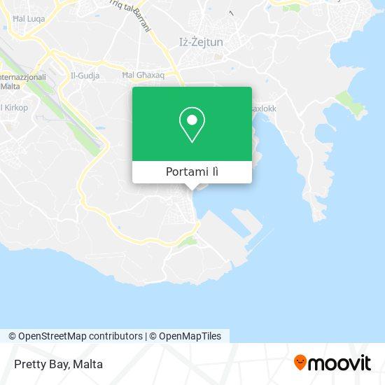 Mappa Pretty Bay
