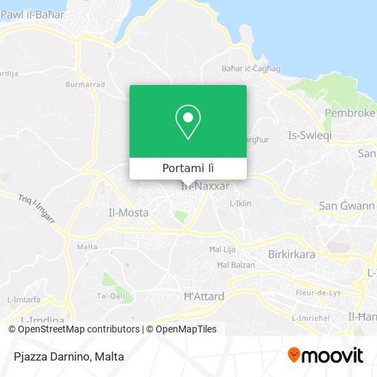 Mappa Pjazza Darnino