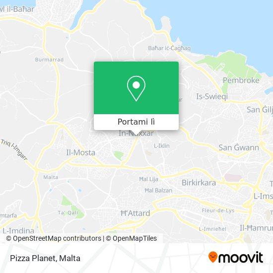 Mappa Pizza Planet