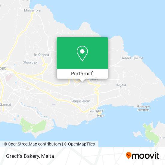 Mappa Grech's Bakery