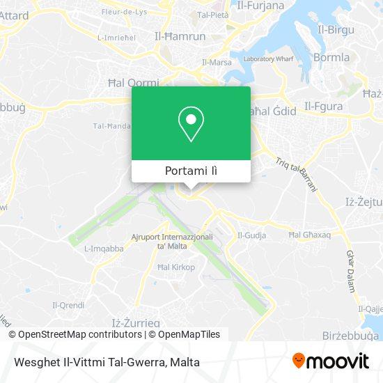 Mappa Wesghet Il-Vittmi Tal-Gwerra