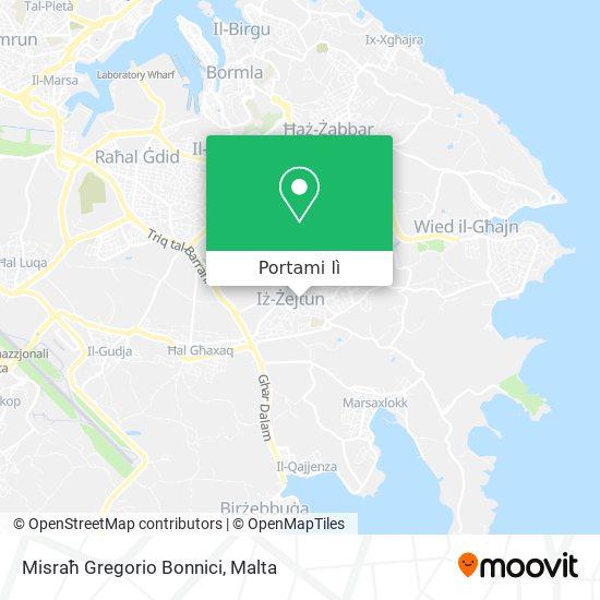 Mappa Misraħ Gregorio Bonnici