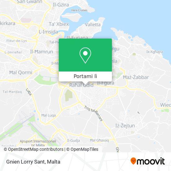 Mappa Gnien Lorry Sant