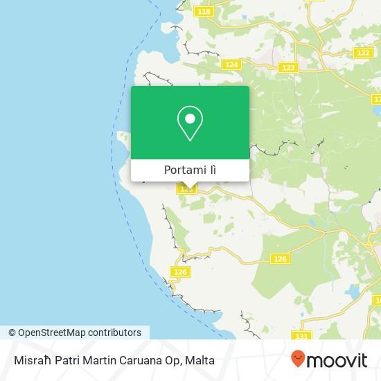 Mappa Misraħ Patri Martin Caruana Op